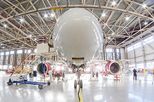 Civilian aircraft equipment production (Aerospace)